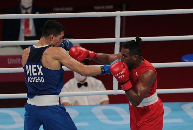 Cubano elimina al mexicano Rogelio Romero en boxeo de Tokio 2020