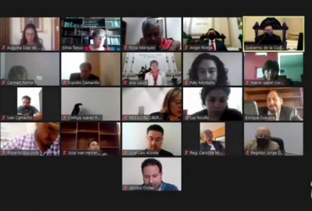 En cerrada votación Cabildo de Puebla avala estado financiero de mayo