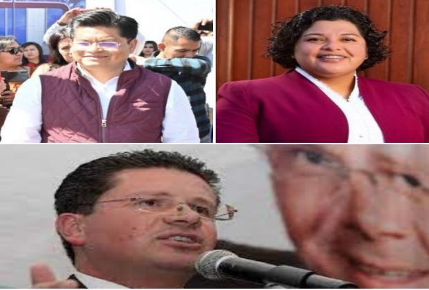 Pérez Popoca y Teutli van por reelección; Lorenzini por SPC
