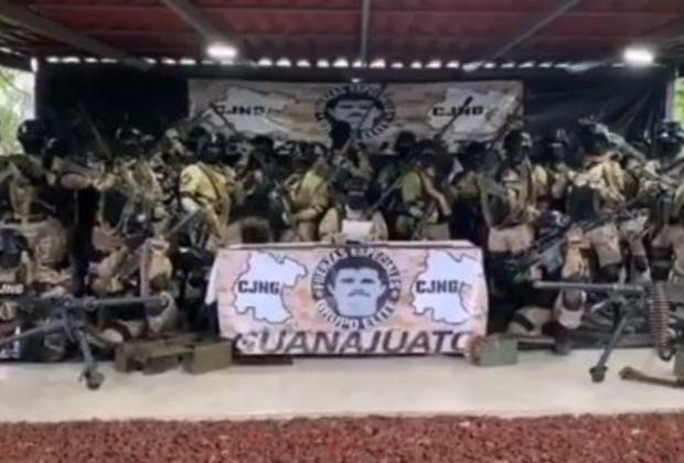 CJNG asegura que mantendrá la paz en Guanajuato tras detención de El Marro