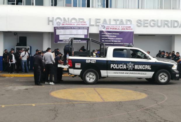 Ayuntamiento y exfuncionarios auspician paro de policías, acusa gobierno