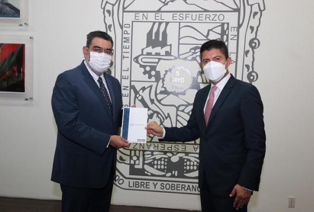 Eduardo Rivera invita a líder del Congreso a su toma de posesión