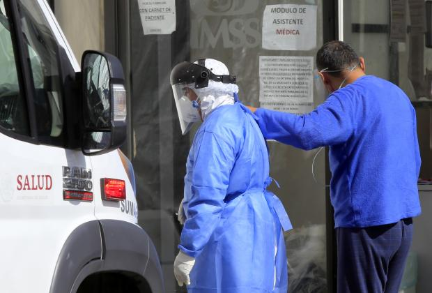 Por segundo día consecutivo Puebla suma casi 600 casos de Covid