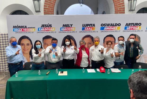 Va por Puebla denunciará ante la Fepade a Claudia Rivera