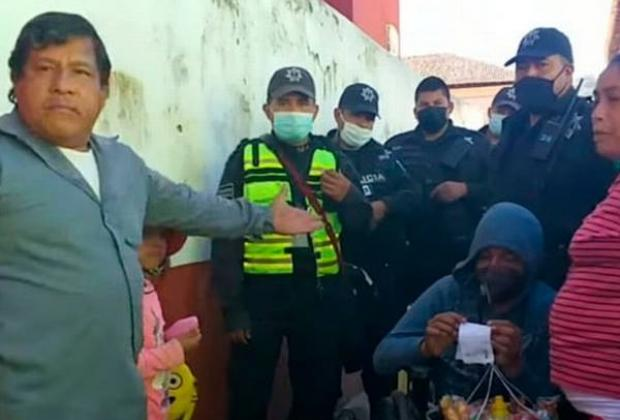 Denuncian abuso policial contra discapacitado en Zacapoaxtla