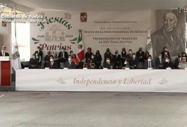 EN VIVO Ceremonia Conmemorativa al Aniversario de la Independencia