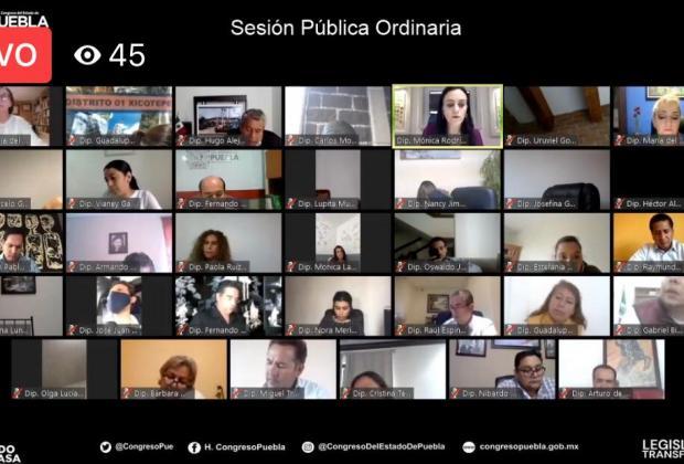 En Puebla diputados eliminan el fuero constitucional