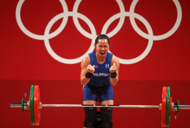 Primer oro olímpico para Filipinas