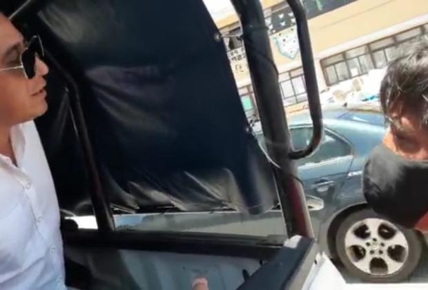 VIDEO Detienen en estado de ebriedad al edil de Xiutetelco