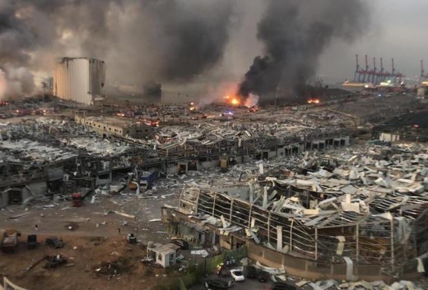 México envío a Líbano 100 mil dólares como apoyo a víctimas en Beirut