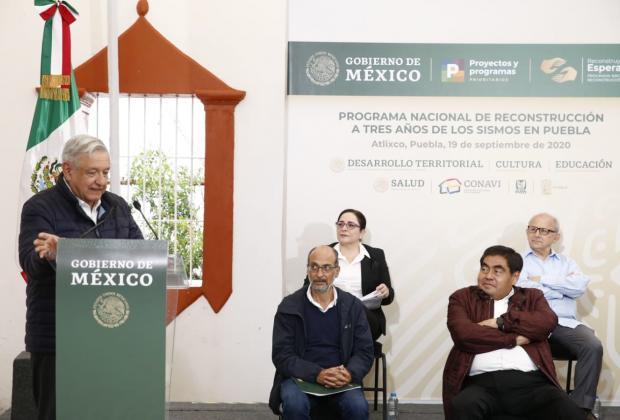 SEP se instalará en Puebla a más tardar en 2021: AMLO