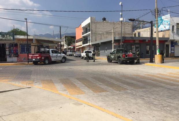Catea Fisdai, Ejército y estatales dos domicilios en Ajalpan