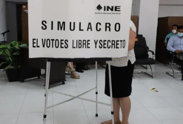 El Instituto Nacional Electoral realizó el segundo simulacro del Conteo Rápido