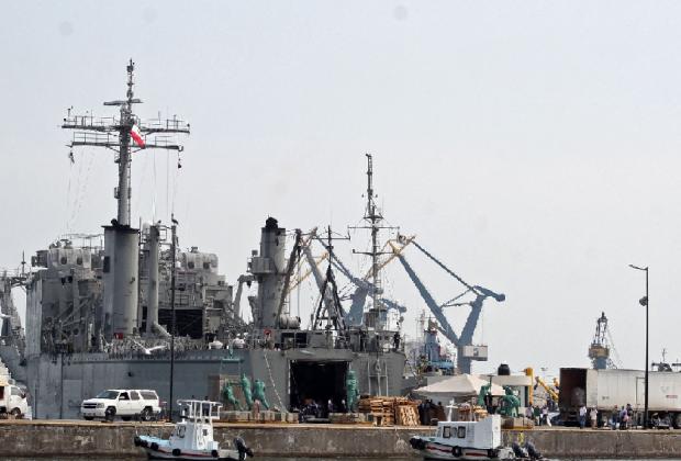 México envió a Cuba el segundo buque con material médico y alimentos