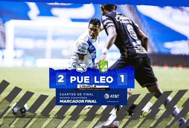 Ganó la Franja, Puebla vence a León