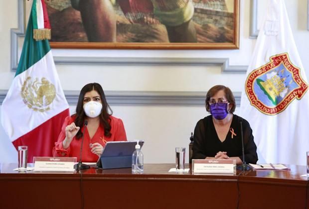 En contingencia, SISG identifica 8 nuevas tipos de violencia de género en Puebla