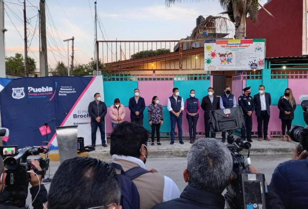 Rivera anuncia inversión de 16 mdp para estancias infantiles en la capital