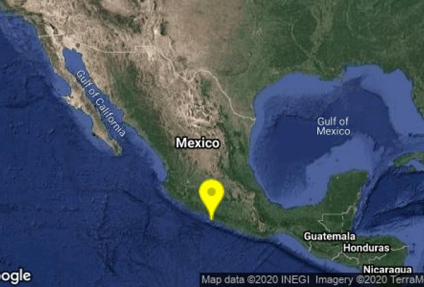 Sismo en Guerrero es percibido hasta CDMX