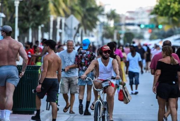 Casos de covid 19 aumentaron un 106% en Florida