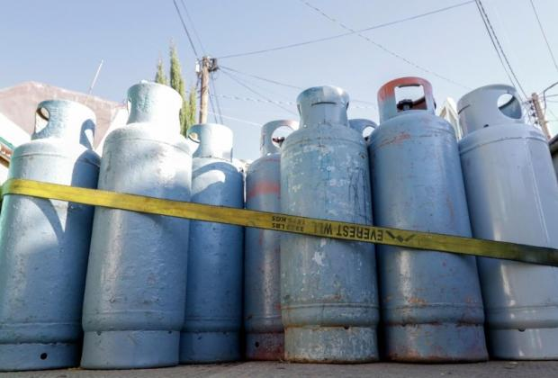 Continúa a la alza el gas LP en Puebla