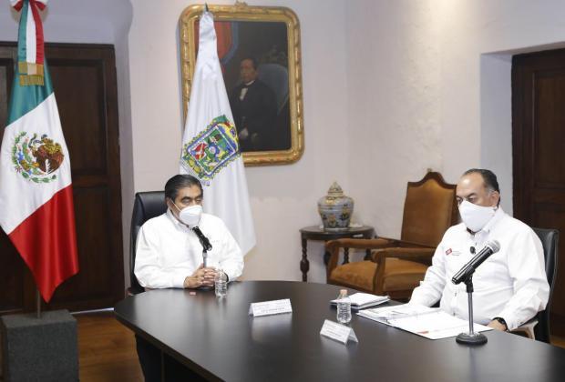 Desmiente Gobierno que Miguel Barbosa esté internado