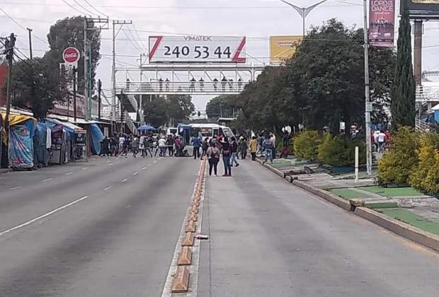 VIDEO Conflicto entre Guardia Nacional y comerciantes en La Cuchilla