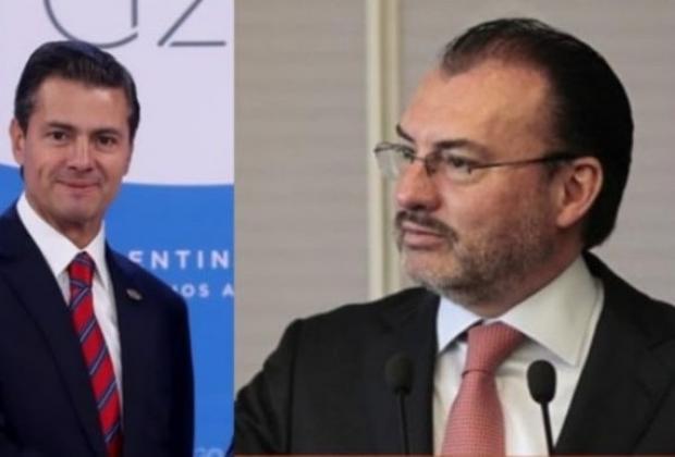 Denuncian FGR a Peña Nieto y Videgaray por caso Odebrecht