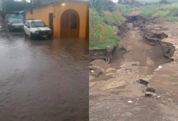 Alerta en la región de Serdán por bajas temperaturas y lluvia constante