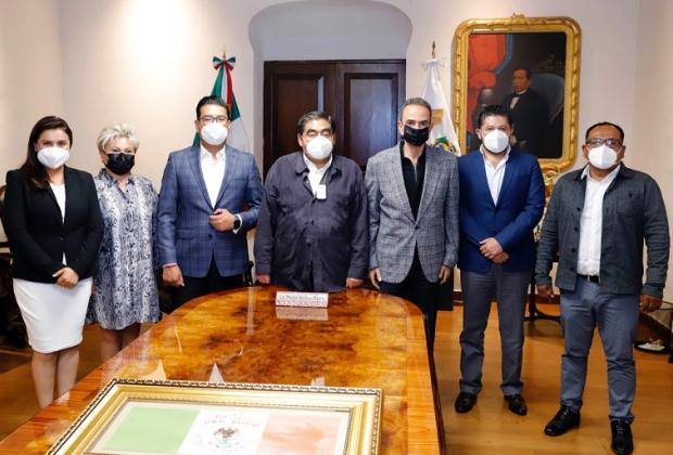 Barbosa se reúne con diputados del PRI, incluido Chidiac