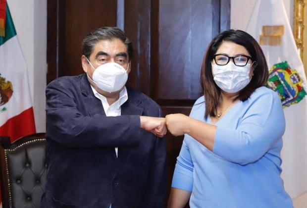 Barbosa y Huerta se reúnen tras pugnas judiciales y electorales