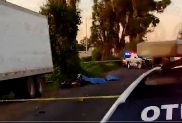 Camión del ejército habría causado la muerte a dos jóvenes en Texmelucan