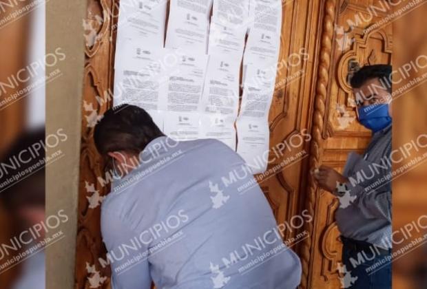 Notifican a regidores de Tehuacán del inicio de revocación de mandato
