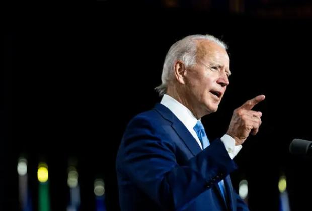 Biden promedió 44.7% puntos porcentuales de aprobación en su tercer trimestre