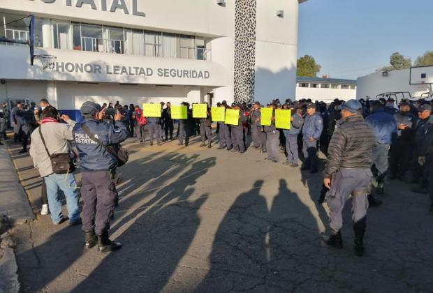 Protesta de policías es asunto nacional pero se llegará a una solución: Barbosa