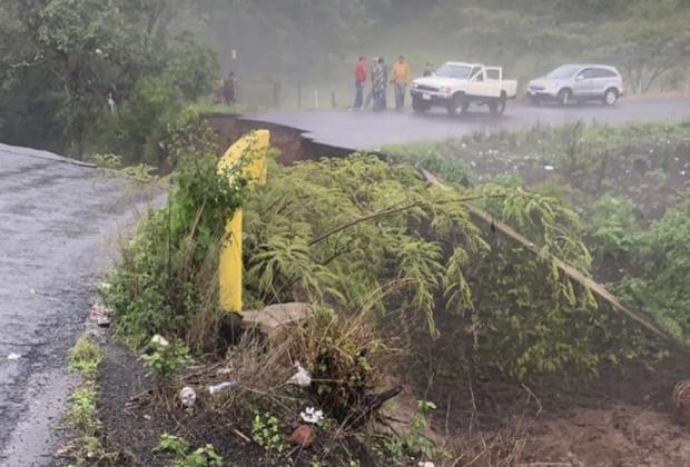 Incomunicados pueblos de la Sierra Norte por lluvias