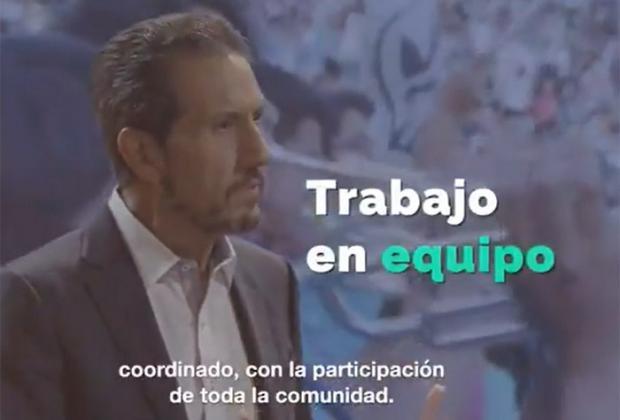VIDEO Advierte el rector Alfonso Esparza que peleará por el regreso de Lobos a la BUAP