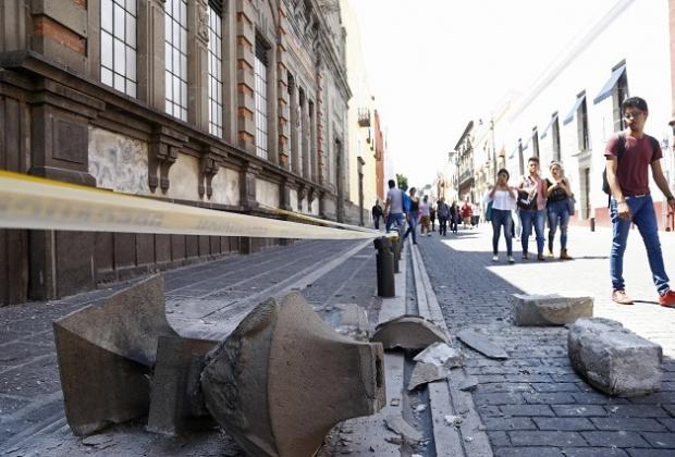 Sin atender, 214 inmuebles dañados en el sismo de 2017 en Puebla