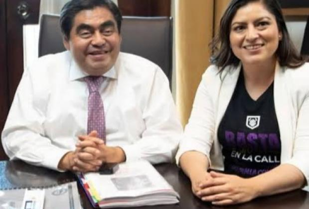Minimiza Barbosa diferencias políticas con Claudia Rivera