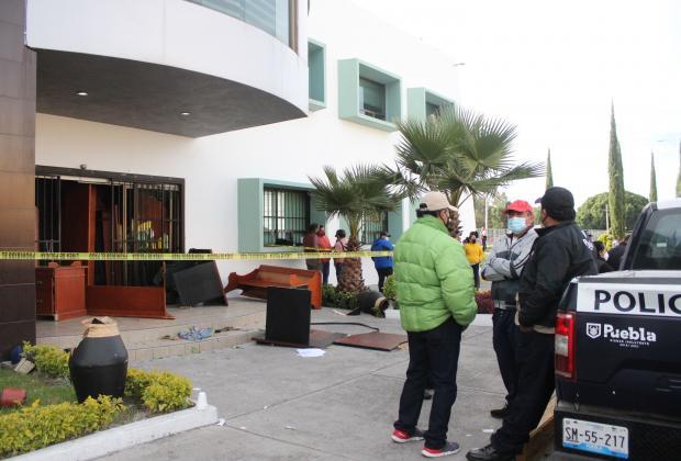 Hay 20 detenidos por robo a sindicato del ayuntamiento de Puebla