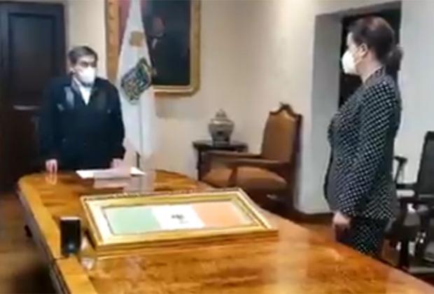 Designa Barbosa a Ana Lucía Hill como secretaria de Gobernación en Puebla