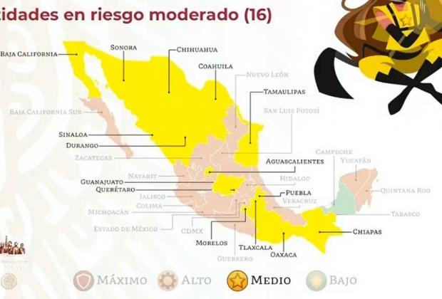 Puebla transita a semáforo amarillo tras medio año de pandemia