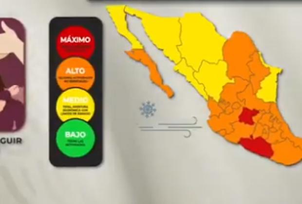 Puebla, 15 días más en semáforo naranja ante contagios de covid19