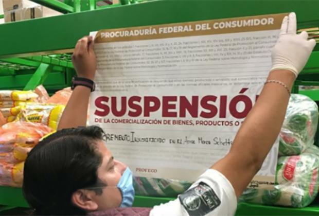 Profeco suspendió Bodegas Aurrerá de Chula Vista y Xonaca por alza de precios