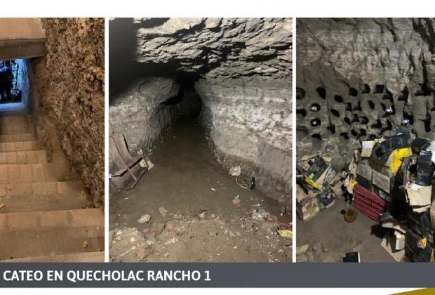 Hallan túnel y armas en ranchos ligados a El Toñín en Quecholac