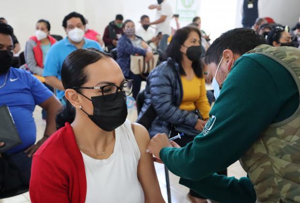 Puebla sigue entre los 5 estados con rezagos en vacunación covid