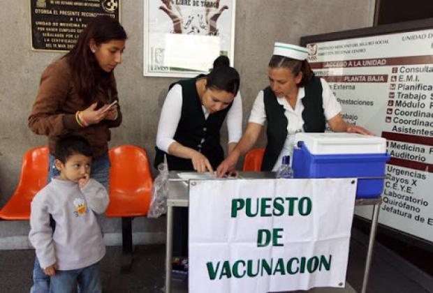 Aplicarán 1 millón 700 mil vacunas contra influenza H1N1 en Puebla