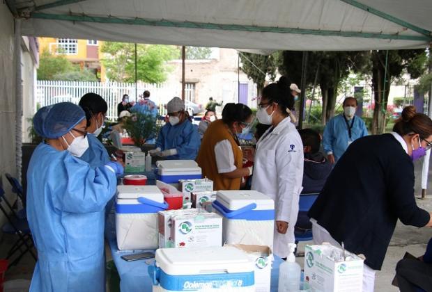 Faltan vacunas para los de 40 y más en la capital poblana
