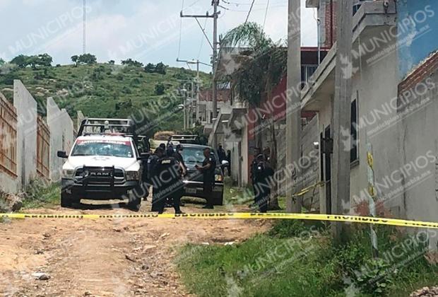 Persecución de policía estatal termina en balacera en Atlixco