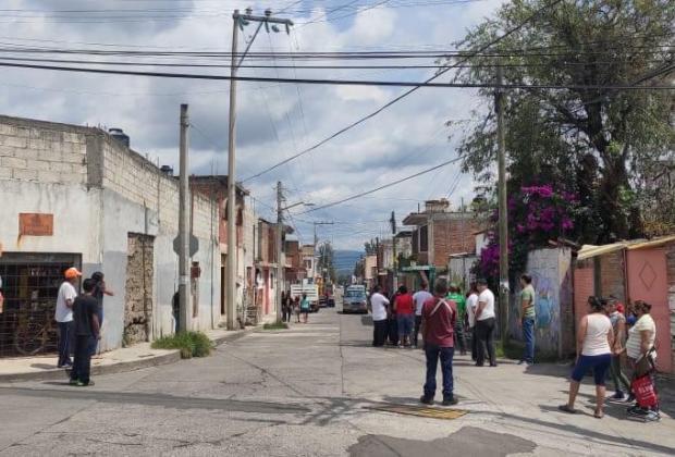 Se desata persecución policiaca por presunto rapto de menor en Atlixco