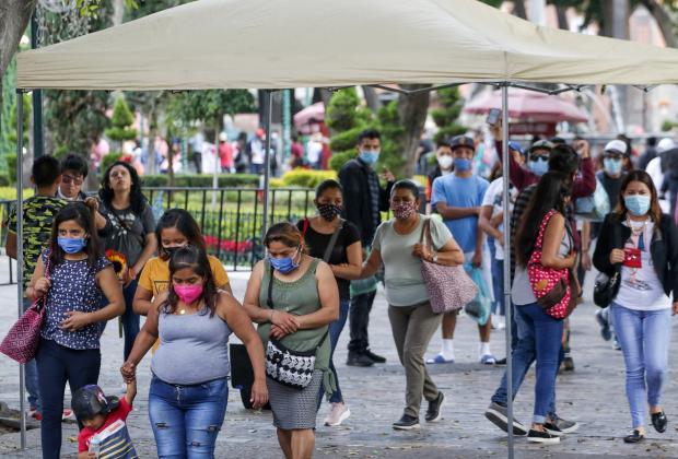 Rebasa Puebla los mil 500 casos de Covid por segunda vez en el año